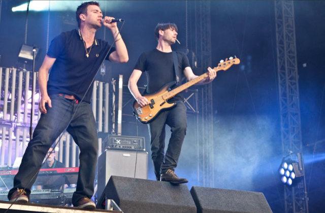 Blur - Damon Albarn and Alex James