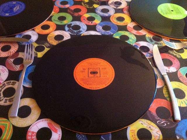 Vinyl Record Placemat