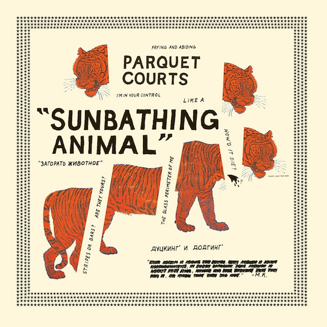 Parquet Courts Sunbathing Animal