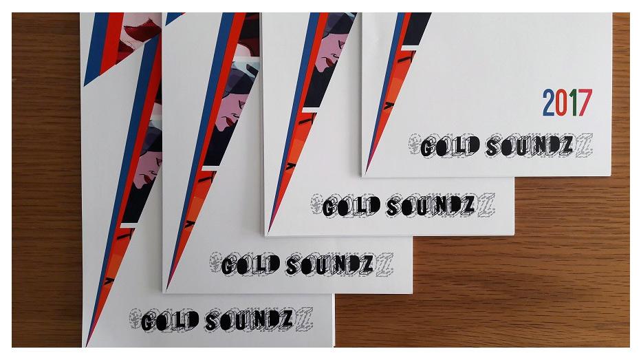 Calendario 2017 Gold Soundz