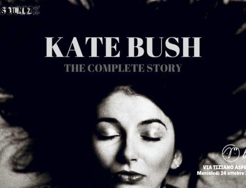Kate Bush: mercoledi' 24 ottobre serata a lei dedicata a Padova