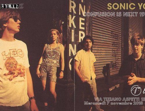 Sonic Youth: a novembre due incontri a Padova dedicati a ripercorrere la loro carriera