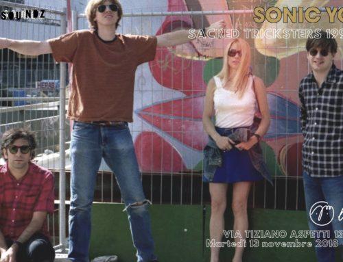 Sonic Youth: secondo appuntamento dedicato alla loro carriera martedì 13 novembre a Padova