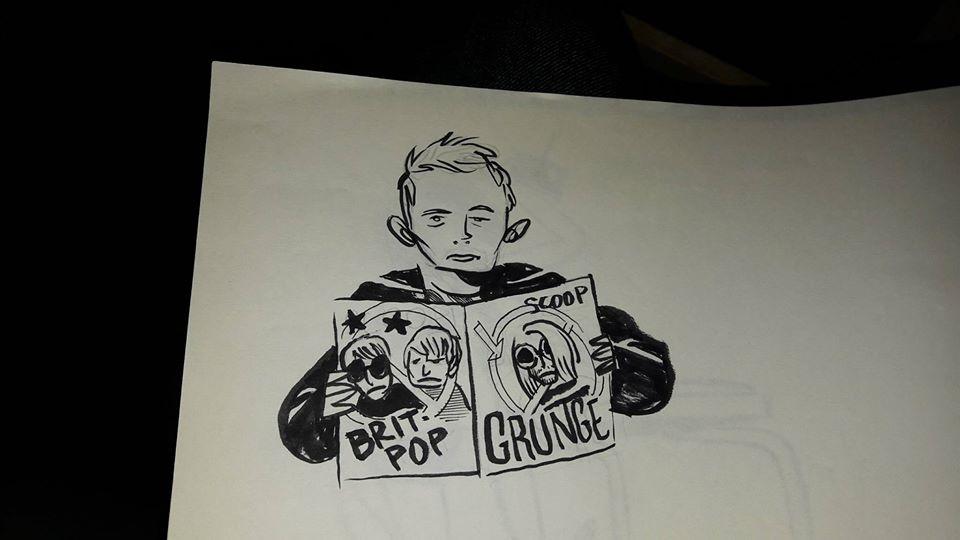 Thom Yorke Michele Bruttomesso