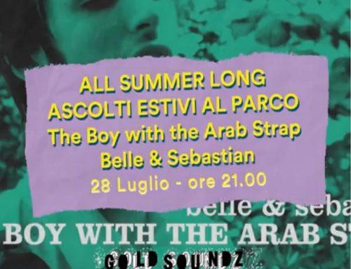 Ascolti estivi: martedì 28 luglio alle 21 si ascoltano i Belle & Sebastian al Parco Milcovich di Padova
