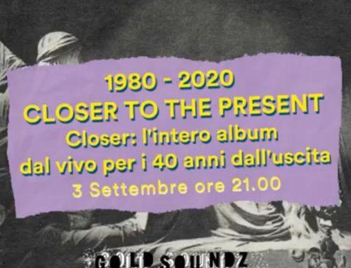 40 anni di Closer dei Joy Division: giovedì 3 settembre concerto con presentazione a Padova